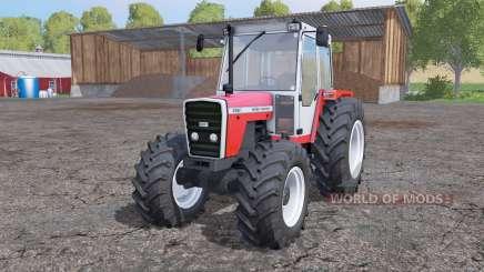 Massey Ferguson 698T interactive control para Farming Simulator 2015