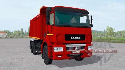 KamAZ 6520-21010-53 v2.1 para Farming Simulator 2017