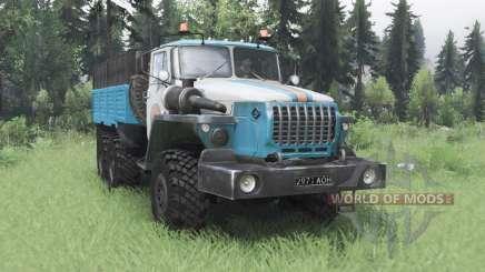 Ural 4320-10 MOE para Spin Tires