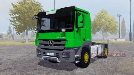 Mercedes-Benz Actros (MP3) green para Farming Simulator 2013