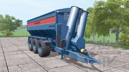 BERGMANN GTW 430 dark blue para Farming Simulator 2017