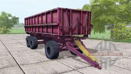 PSTB 17 de color rosa oscuro para Farming Simulator 2017
