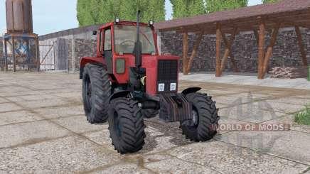 MTZ 82 Belarús suave-rojo para Farming Simulator 2017