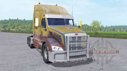 Peterbilt 579 Sleeper Cab para Farming Simulator 2017