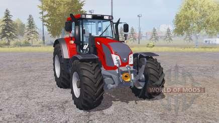 Valtra N163 loader mounting para Farming Simulator 2013