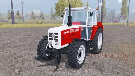 Steyr 8080A Turbo SK2 twin wheels para Farming Simulator 2013