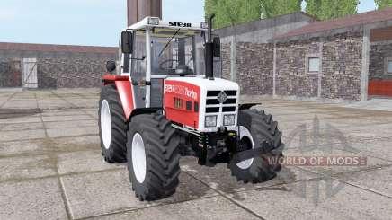 Steyr 8080A Turbo SK2 soft red para Farming Simulator 2017