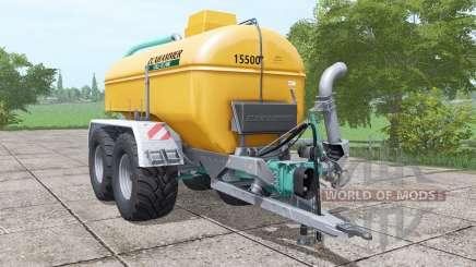 Zunhammer SKE 15.5 PU para Farming Simulator 2017