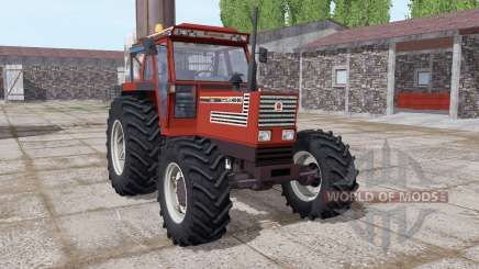 Fiatagri 140-90 Turbo DT dark red para Farming Simulator 2017