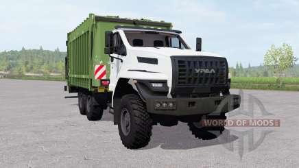 Ural Siguiente (4320-6952-72) camión de la basura para Farming Simulator 2017