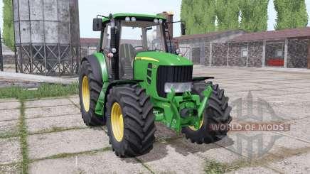 John Deere 7430 Premium dual trasera para Farming Simulator 2017