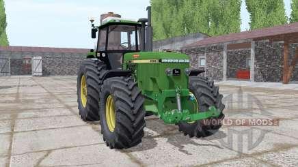 John Deere 4955 green para Farming Simulator 2017
