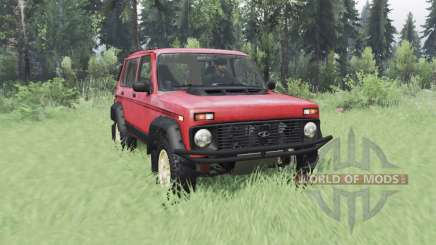 VAZ Niva 2131 para Spin Tires