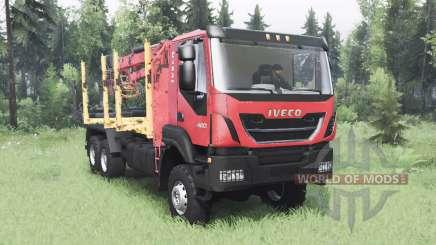 Iveco Trakker 420 para Spin Tires
