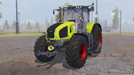 CLAAS Axion 950 bright yellow para Farming Simulator 2013