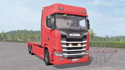 Scania S 420 Flatbed para Farming Simulator 2017