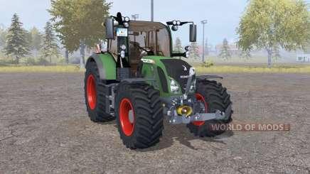 Fendt 724 Vario SCR front loader para Farming Simulator 2013