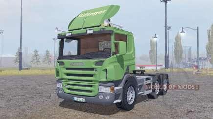 Scania P420 6x6 para Farming Simulator 2013