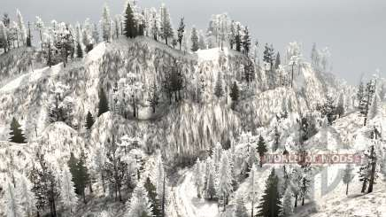 Snow Ridge Logging para MudRunner