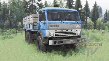 KamAZ 43114 v1 azul.2 para Spin Tires