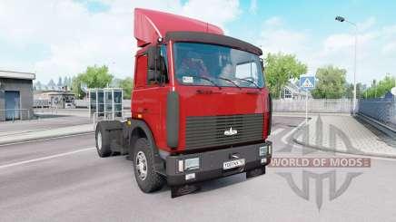 MAZ 54323 v1.33 para Euro Truck Simulator 2
