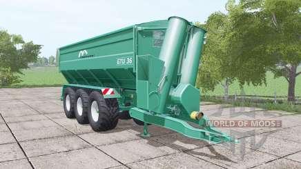 Gustrower GTU 36 para Farming Simulator 2017