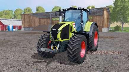 CLAAS Axion 950 twin wheels para Farming Simulator 2015