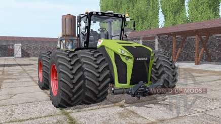 CLAAS Xerion 5000 twin wheels para Farming Simulator 2017
