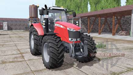 Massey Ferguson 7726 wheels with weights para Farming Simulator 2017