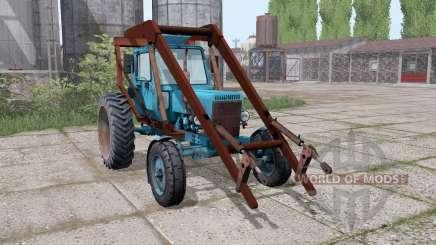 MTZ 80 Belarús 4x4 tagamet para Farming Simulator 2017