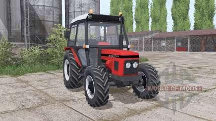 Zetor 7745 wheels weights para Farming Simulator 2017