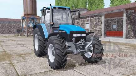 New Holland TM150 vivid blue para Farming Simulator 2017