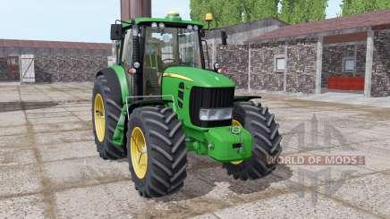 John Deere 7430 Premium gewicht para Farming Simulator 2017