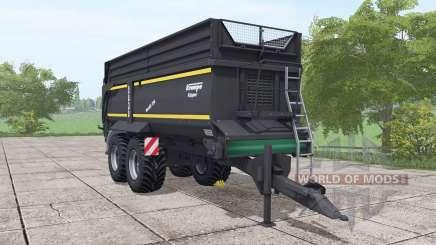 Krampe Bandit 750 schwarzer para Farming Simulator 2017
