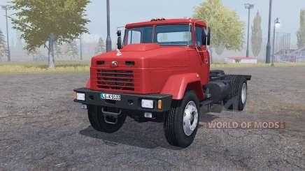 KrAZ 5133 tractor para Farming Simulator 2013