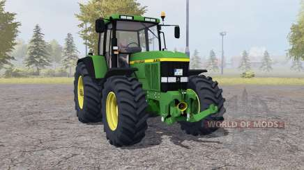 John Deere 7810 dark lime green para Farming Simulator 2013