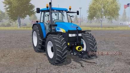 New Holland TM 175 vivid blue para Farming Simulator 2013