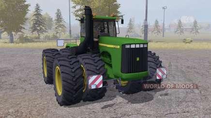 John Deere 9400 twin wheels para Farming Simulator 2013