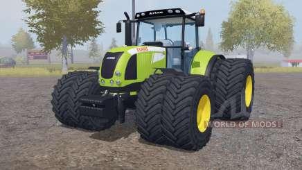 CLAAS Arion 640 double wheels para Farming Simulator 2013