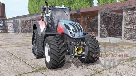 Steyr Terrus 6770 CVT crawler modules para Farming Simulator 2017