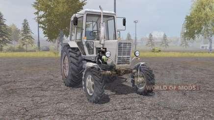 MTZ 82.1 luz gris naranja para Farming Simulator 2013