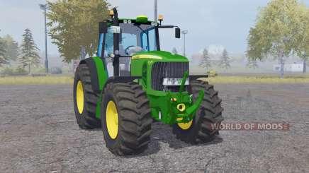 John Deere 7530 Premium green para Farming Simulator 2013