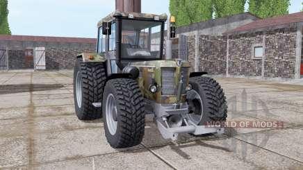 Schluter Super 1500 TVL camo para Farming Simulator 2017