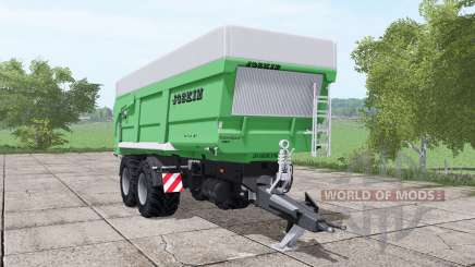 JOSKIN Trans-Space 7000-27 green para Farming Simulator 2017