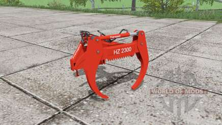 Fransgard HZ 2300 para Farming Simulator 2017