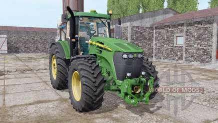 John Deere 7920 dark lime green para Farming Simulator 2017
