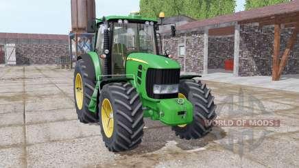 John Deere 7430 Premium michelin tires para Farming Simulator 2017