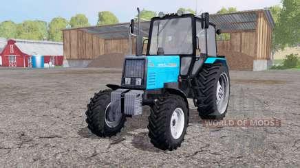 MTZ 892 Bielorrusia con una cuchilla para Farming Simulator 2015