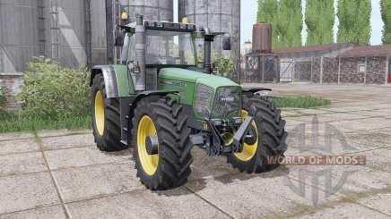 Fendt Favorit 824 Turboshift dual rear para Farming Simulator 2017