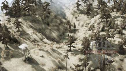 Lakes Valley - Overland para MudRunner